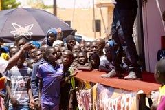 Visite du Senegal 2017 de Dacar ao Islã Mansouri do vencedor das fases de Dacar 8 Imagem de Stock Royalty Free