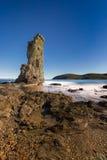 Visite Genoese De Santa Maria sur Cap Corse en Corse Images libres de droits