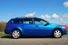 Visite grande II 1 de Renault Mégane ligne de la technologie 6 16V Photographie stock libre de droits