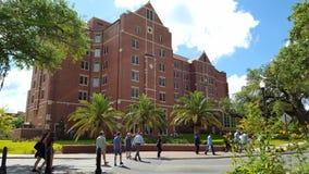 Visite guidée à pied d'université de l'Etat de la Floride Image libre de droits