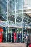 Visite officielle vers Strasbourg - visite royale Photographie stock libre de droits
