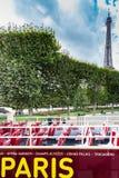 Visite Paris Photo libre de droits