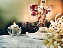 Visite pastorale Photo stock