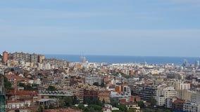 Visite touristique à Barcelone Photo libre de droits