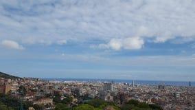 Visite touristique à Barcelone Images libres de droits
