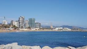 Visite touristique à Barcelone Photos libres de droits