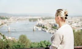 Visite touristique à Budapest Photo libre de droits