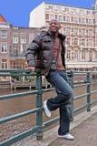 Visite touristique en Hollandes d'Amsterdam Photo libre de droits