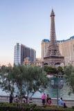 Visite touristique près de Paris Las Vegas Photos libres de droits