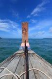 Visite traditionnelle de bateau de Long-queue Photo stock