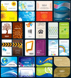 Visitenkarte Stockfoto