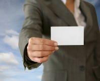 Visitenkarte Lizenzfreies Stockbild