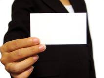 Visitenkarte Lizenzfreies Stockfoto
