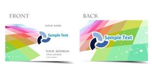 Visitenkarte Lizenzfreie Stockfotos