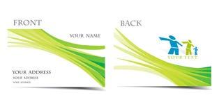 Visitenkarte Stockfotografie