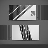Visitenkarte-Design. Lizenzfreie Stockfotos
