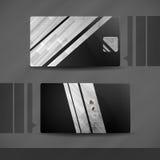 Visitenkarte-Design. Stockfotografie