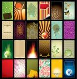 Visitenkarte-Schablone lizenzfreie abbildung