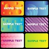 Visitenkarte X2.cdr Stockbilder