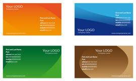 Visitenkarten Lizenzfreie Stockbilder