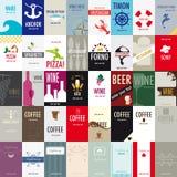 Visitenkarten stockbild