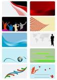 Visitenkarten Stockfotos