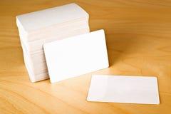 Visitenkarten mit gerundeten Ecken Lizenzfreie Stockfotos