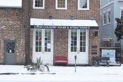 Visites de bas pays et attractions, Charleston, Sc Photo libre de droits