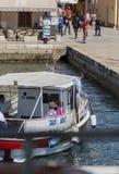 Visites de bateau image libre de droits