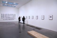 Visiteur de musée de Londres Photo stock