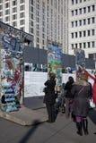 Visiteurs à Berlin Image libre de droits