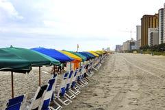 Visiteurs de attente de plage Image libre de droits