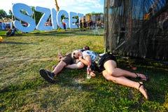Visiteurs du festival Photos libres de droits