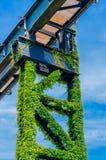Visitez le parc Duisbourg de paysage Photos stock