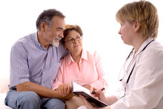 Free Visiting A Doctor Stock Photography - 5420572