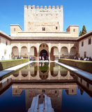 Visiting the Alhambra Royalty Free Stock Photo