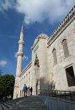 Visiting Blue Mosquee Royalty Free Stock Photography