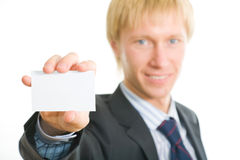 Visiting card Stock Images