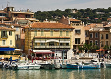 Visiting Cassis Royalty Free Stock Photography