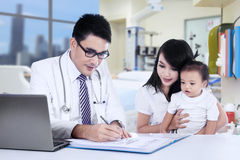 Visiting Doctor Royalty Free Stock Photo