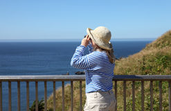 Visiting Ecola state park, Oregon coast. Stock Image