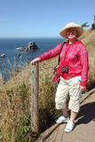 Visiting Ecola state park, Oregon coast. Stock Photography