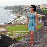 Visiting El Morro Fort Royalty Free Stock Images