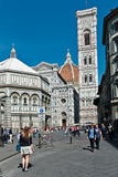 Visiting Florence royalty free stock images