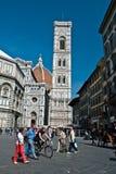 Visiting Florence Royalty Free Stock Photos