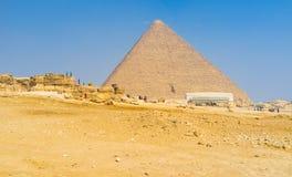Visiting Giza Stock Photos