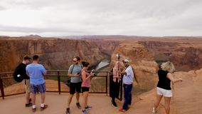 Visiting the Horseshoe Bend in Arizona - PAGE, USA - MARCH 29, 2019