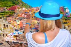 Visiting Italian city Stock Image