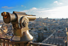 Visiting italian city, courism concept Royalty Free Stock Photo