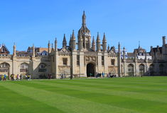 Kings College Cambridge University Stock Images